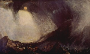 Turner, 'Snow Storm: Hannibal and his Army Crossing the Alps'