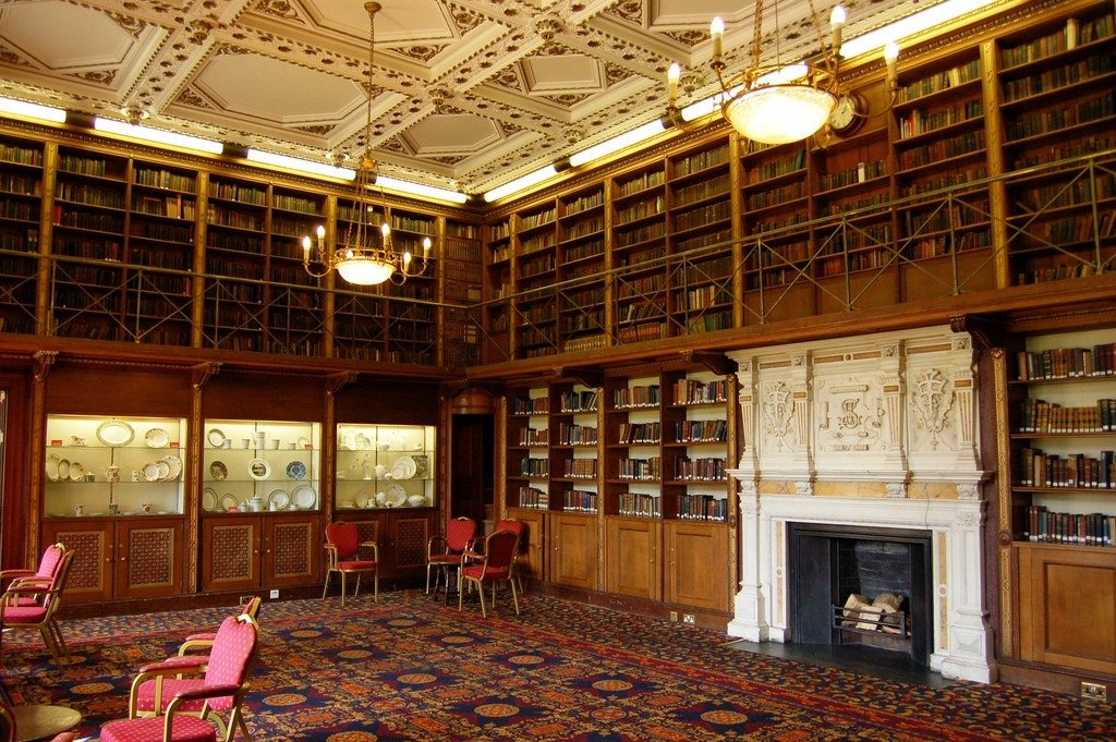 The Old Library, Keele Hall, Staffordshire