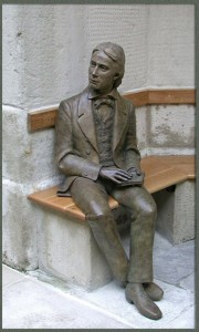 Keats in Bronze