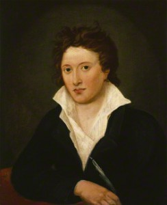 Percy Bysshe Shelley by Amelia Curran, oil on canvas, 1819. National Portrait Gallery