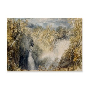 JMW Turner. Weathercote Cave, near Ingleton, when half-filled with Water and the Entrance Impassable, a watercolour. British Museum
