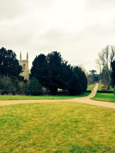 The grounds at Chawton