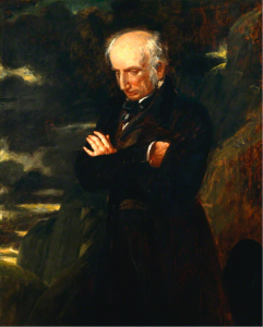 "Benjamin Robert Haydon, ""Wordsworth on Helvellyn"", (1842) – oil on canvas, National Portrait Gallery, London"