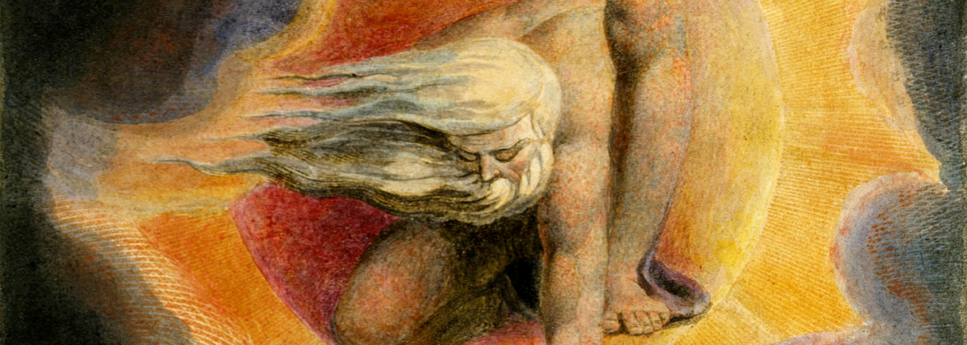 William Blake - Ancient of Days (from Europe: A Prophecy, Copy D; 1794)