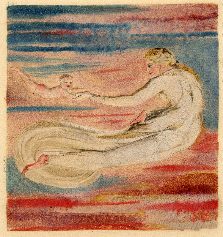 William Blake, from A Small Book of Designs: The First Book of Urizen (1794). ©Trustees of the British Museum. Used under a Creative Commons CC BY-NC-SA 4.0 license.