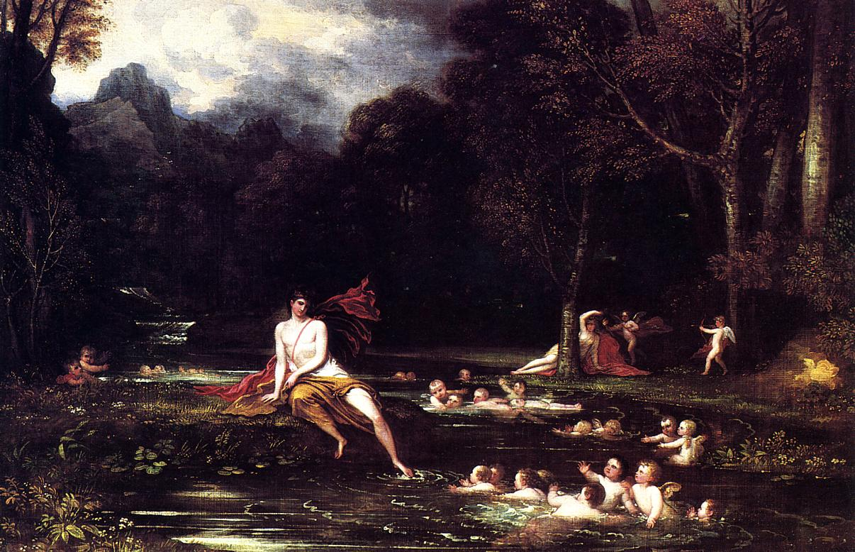 Benjamin West, 'Narcissus and Echo' (1805)