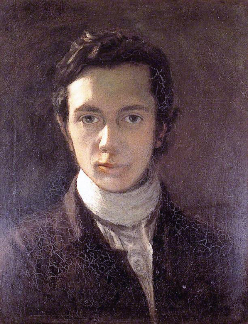 William Hazlitt, by himself (1802)